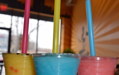 Featured summer flavors at Detroit Bubble Tea include prickly pear, pomegranate, blue raspberry, mango, and lime. (Photo Credit: Emma Tomsich)