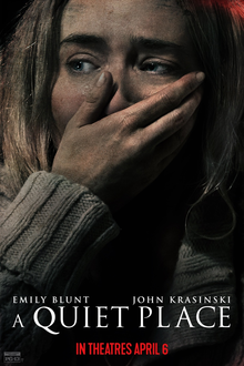 After coming out April 6, 2018, A Quiet Place has already made an outstanding box office income of $176.3 million. (Photo Credit: Fair Use Wikipedia)