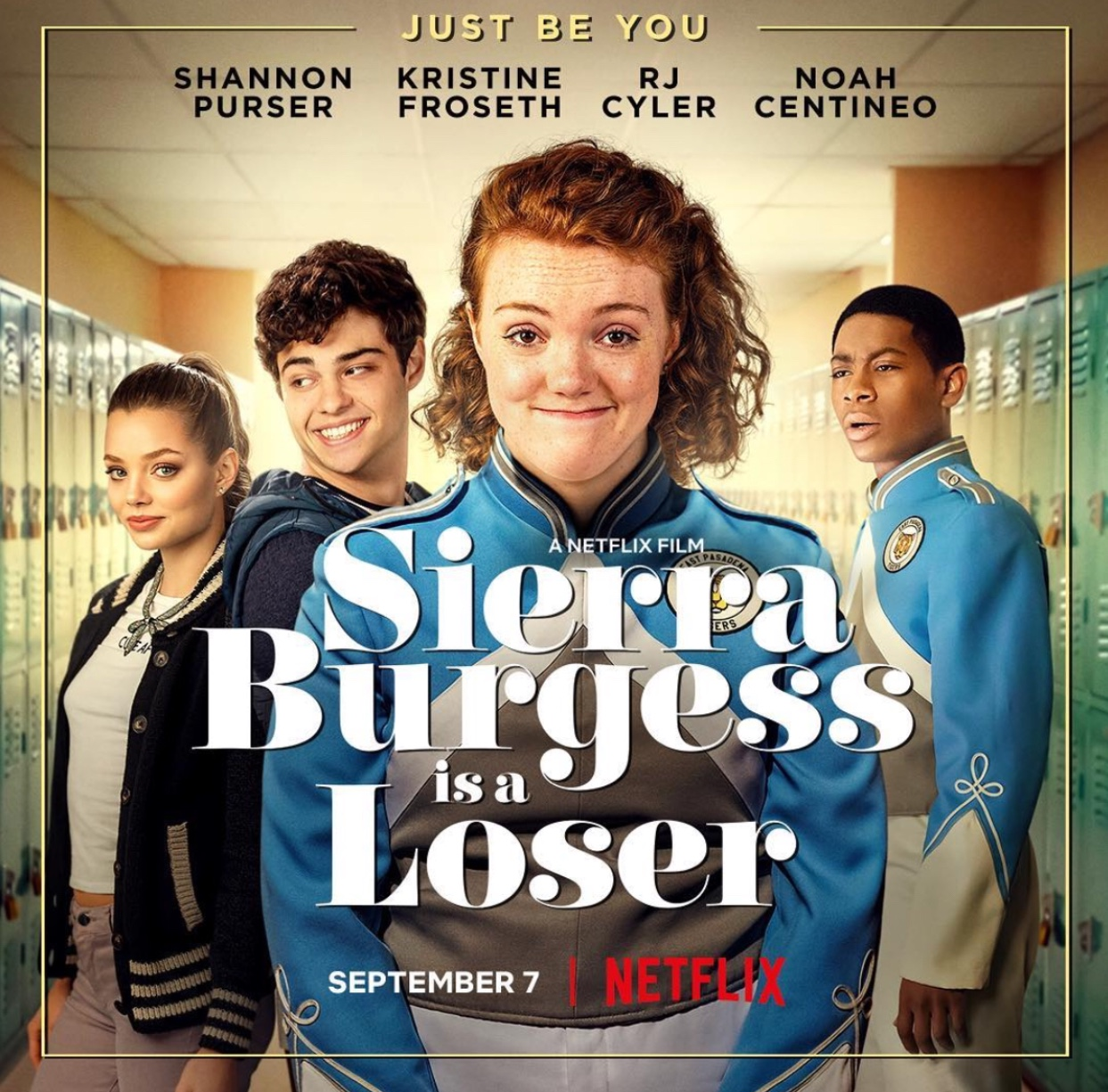 """Film poster for controversial teen romantic comedy """"Sierra Burgess is a Loser"""" Fair Use: Instagram"""