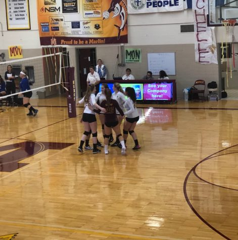 Mercy freshman volleyball win over Marian