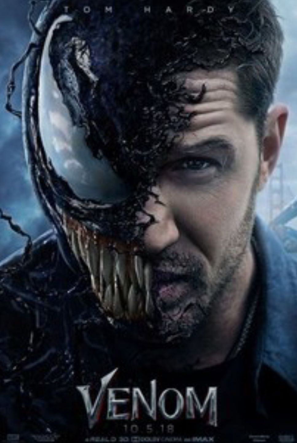 Venom is a Marvel movie with no affiliation to the Avengers or any of the other MCU characters. The movie was released on October 5, 2018. Fair Use: photo from Rotten Tomatoes