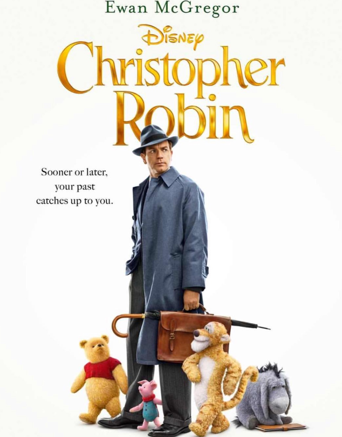 Christopher Robin, rated PG, hit theaters August 3, 2018.  Fair Use: photo from Instagram
