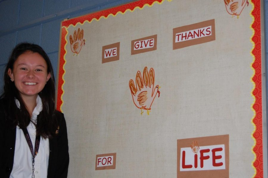 Pro-Life+Club+leader+Grace+Fadool+wants+the+club+to+maintain+a+welcoming+environment+so+that+students+with+differing+viewpoints+feel+accepted+and+appreciated.+%0APhoto+by+Colleen+Thomson+