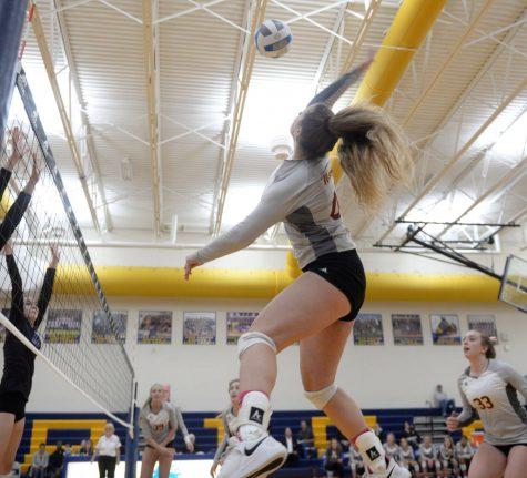 One senior's volleyball journey