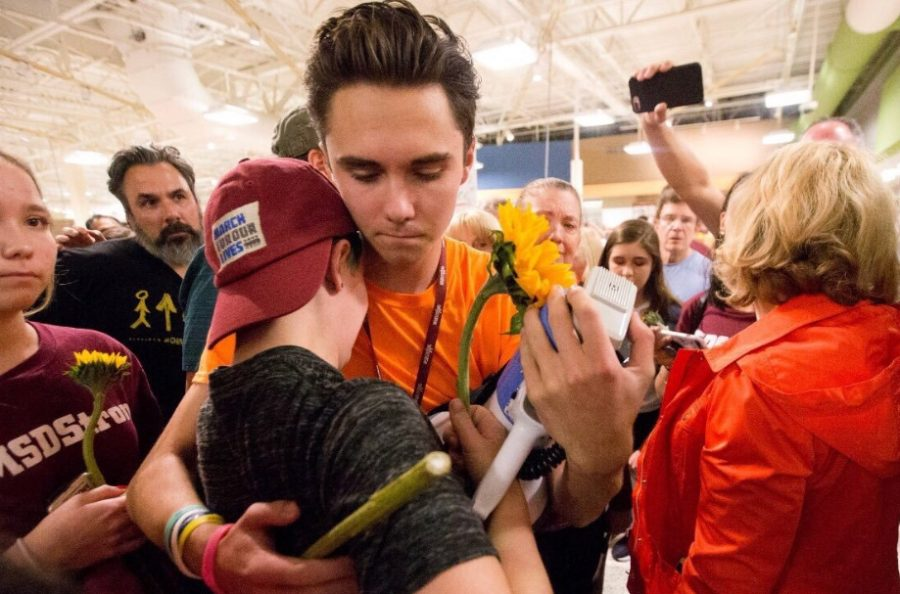 "David Hogg has become a prominent leader in the ""March for Our Lives"", the movement sparked by the Parkland shooting advocating for gun control.  Fair Use: Twitter"