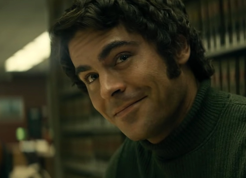 Actor Zac Efron playing serial killer Ted Bundy in new movie, Extremely Wicked, Shockingly Evil and Vile.  Fair use Rolling Stone
