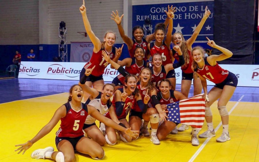 Mruzik%E2%80%99s+USA+National+Team+won+a+gold+medal+and+qualified+for+the+World+Championships+in+Honduras+last+September.+This+summer%2C+they+will+be+going+to+Italy+for+a+week+and+Egypt+for+two+weeks+for+the+2019+World+Championships.+%0APhoto+used+with+permission+from+Jessica+Mruzik