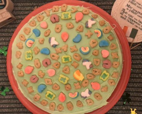 How to make St. Patrick's Day Lucky Charms cake