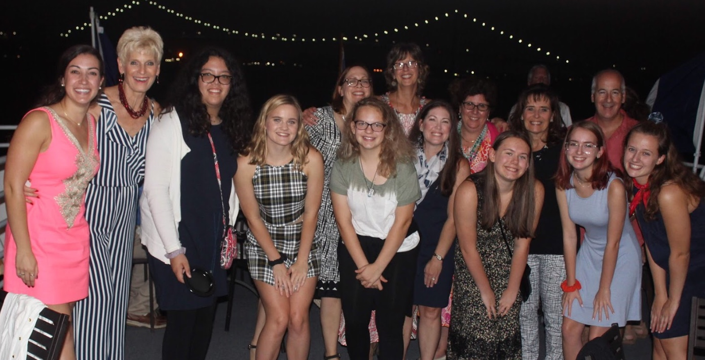This year, the French Honor Society added a new trip, the French dinner cruise, a fundraiser for the club.  Photo by Alley Neary