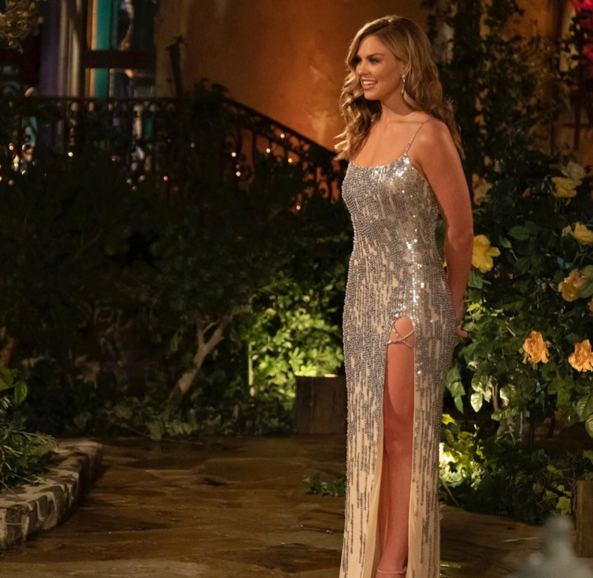 The 24 year old star of ABC's The Bachelorette waits for the contestants to introduce themselves and make their first impression of the season.  Fair Use: Instagram