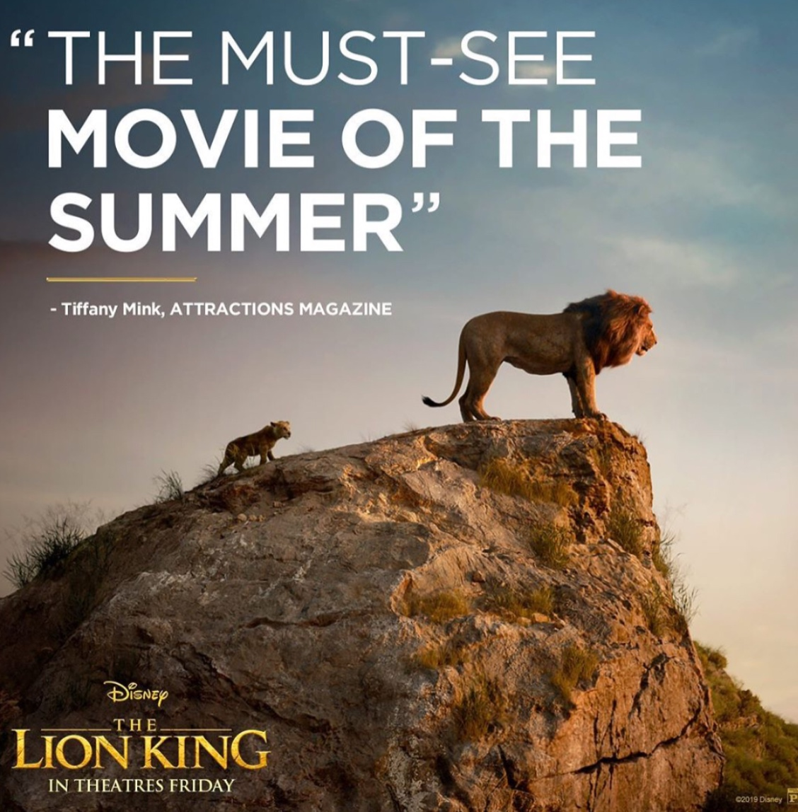 "While some critics claim the new ""The Lion King"" movie is ""the must-see movie of the summer"", the reviews and ratings among audiences show that the movie is not worth wasting time to watch. Fair Use: Instagram"