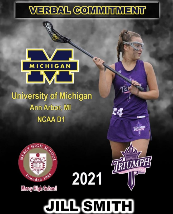 Junior Jillian Smith verbally committed to the University of Michigan Ann Arbor on September 28, 2019. Photo used with permission from Jillian Smith
