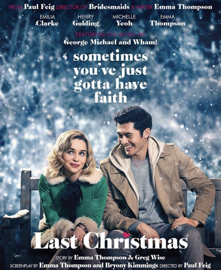 """Last Christmas"" entered theaters on November 8, 2019. Fair use: Instagram"