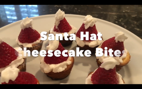 How to make Santa Hat Cheesecake Bites