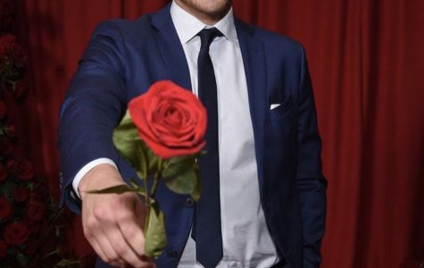 Peter Webber showing off his rose that he will later hand off to a women that he sees a future with. Fair use: Instagram